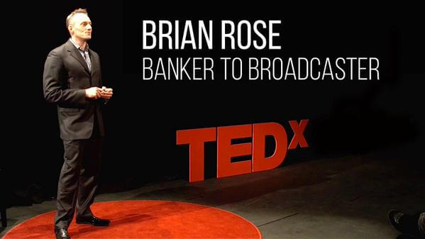 Banker To Broadcaster - TED Talk