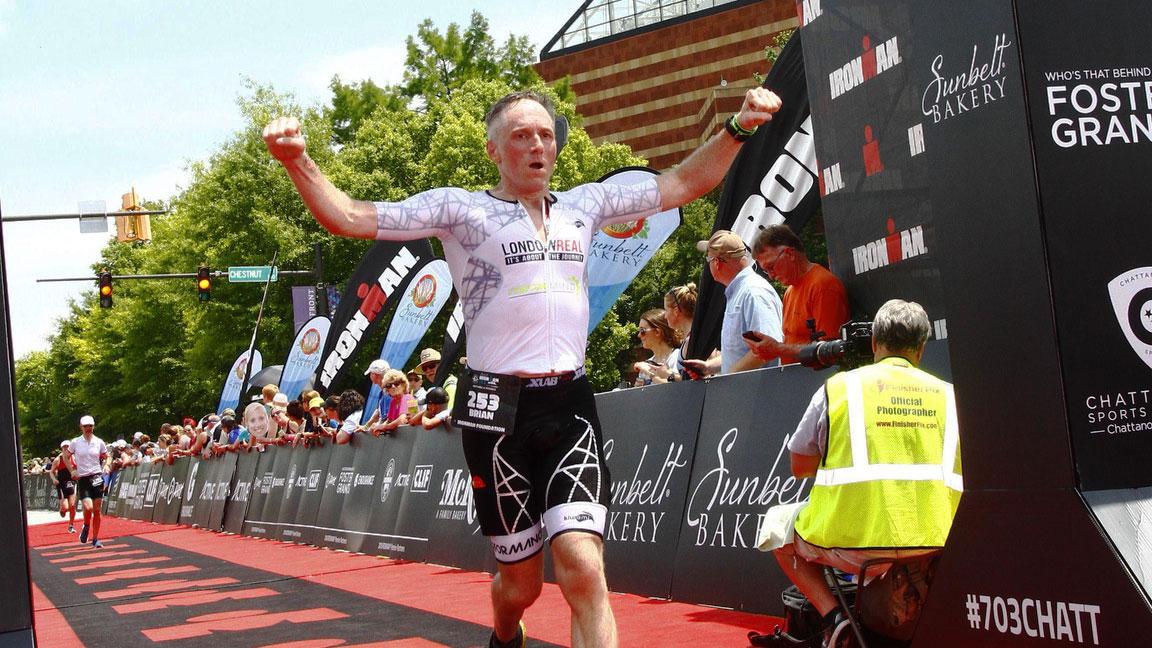 Brian Rose Ironman triathlon