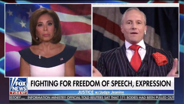 Fox News Appearance on the 4th of July with Judge Jeanine