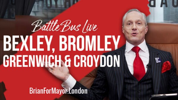 Bexley, Bromley, Greenwich & Croydon - Digital Battle Bus Tour