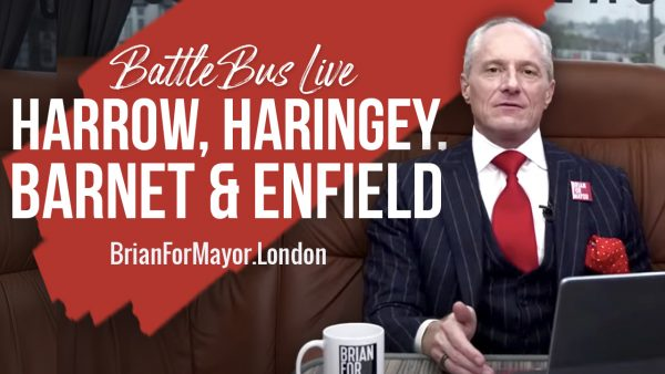 Harrow, Haringey, Barnet & Enfield - Digital Battle Bus Tour
