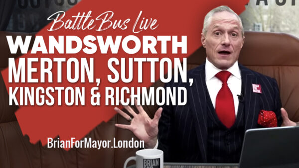 Wandsworth, Merton, Sutton, Richmond & Kingston - Digital Battle Bus Tour