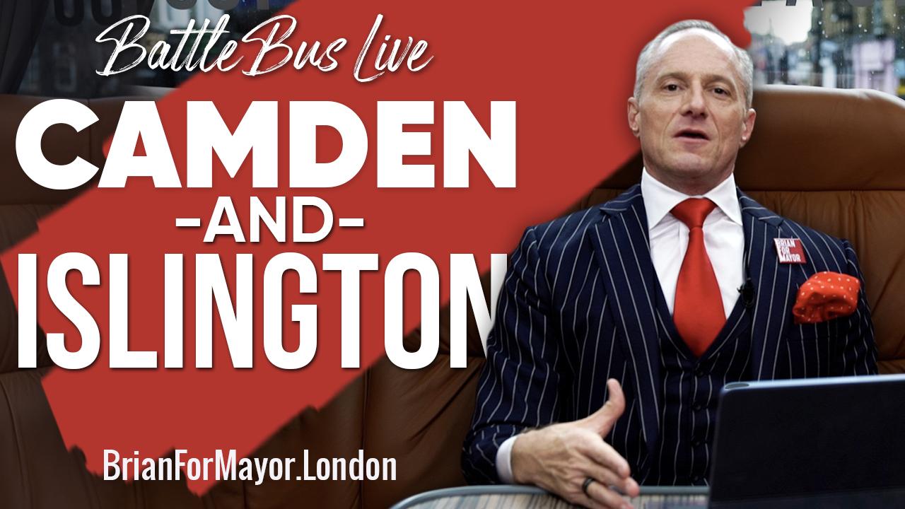 Camden & Islington - Digital Battle Bus Tour