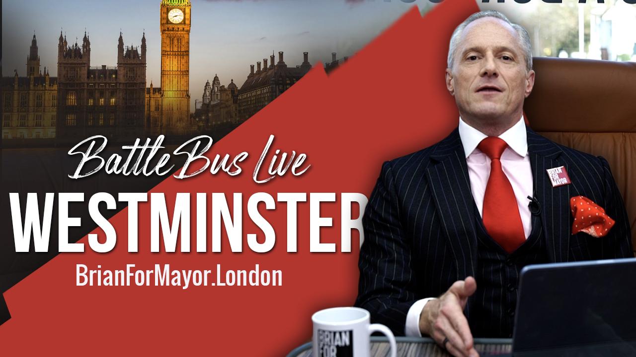 Westminster, Hammersmith & Fulham, Ealing and Hounslow - Digital Battle Bus Live