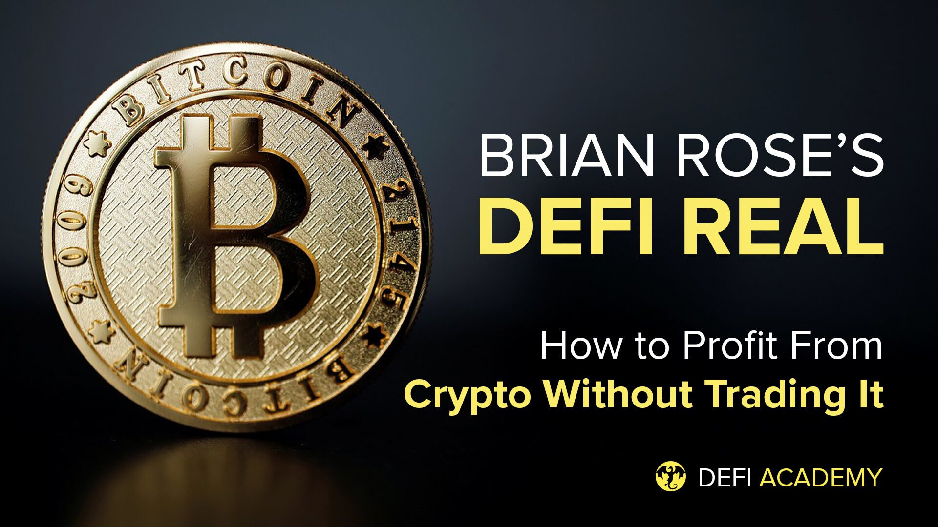 Yield Farming, Liquidity Pools, & Staking: How To Profit From Crypto Without Trading It