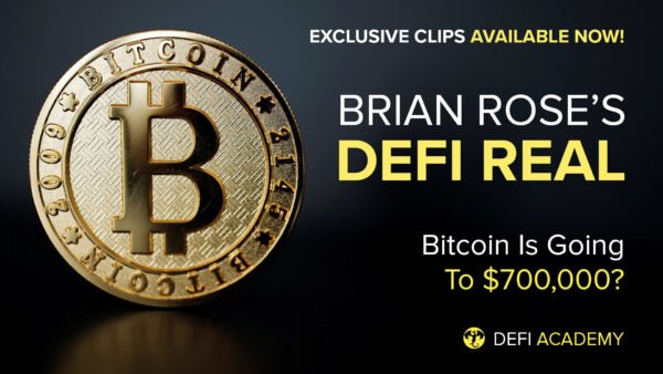 Bitcoin Is Going To $700,000? DeFi Live with Brian Rose