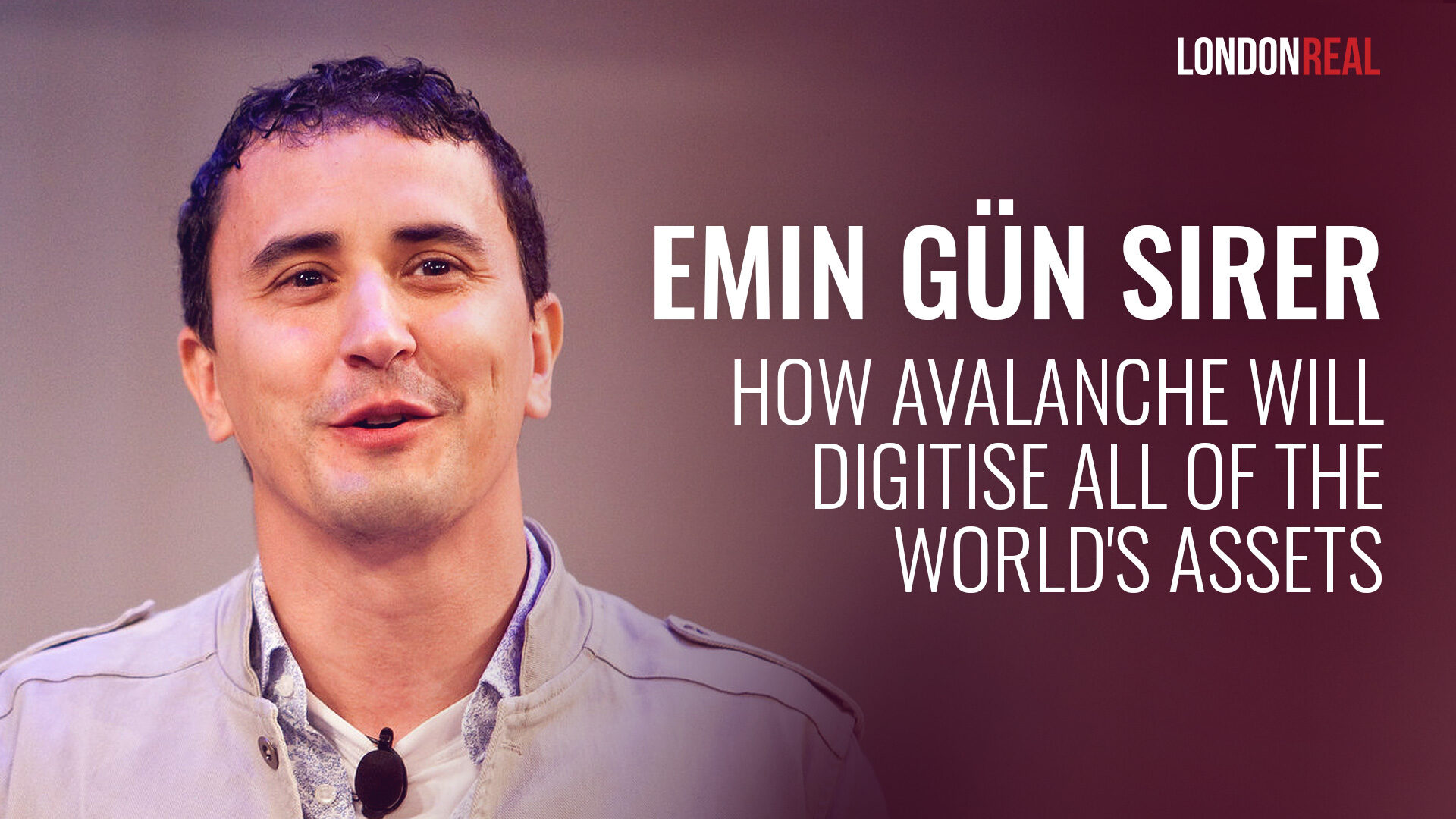 Professor Emin Gün Sirer - How Avalanche Will Digitise All Of The World's Assets